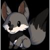 Tiny Fox, Grey